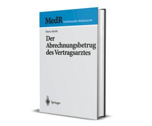 """Buch """"Der Abrechnungsbetrug des Vertragsarztes"""""""
