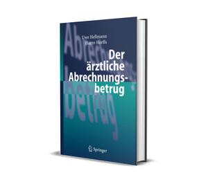 """Buchcover """"Der ärztliche Abrechnungsbetrug"""""""